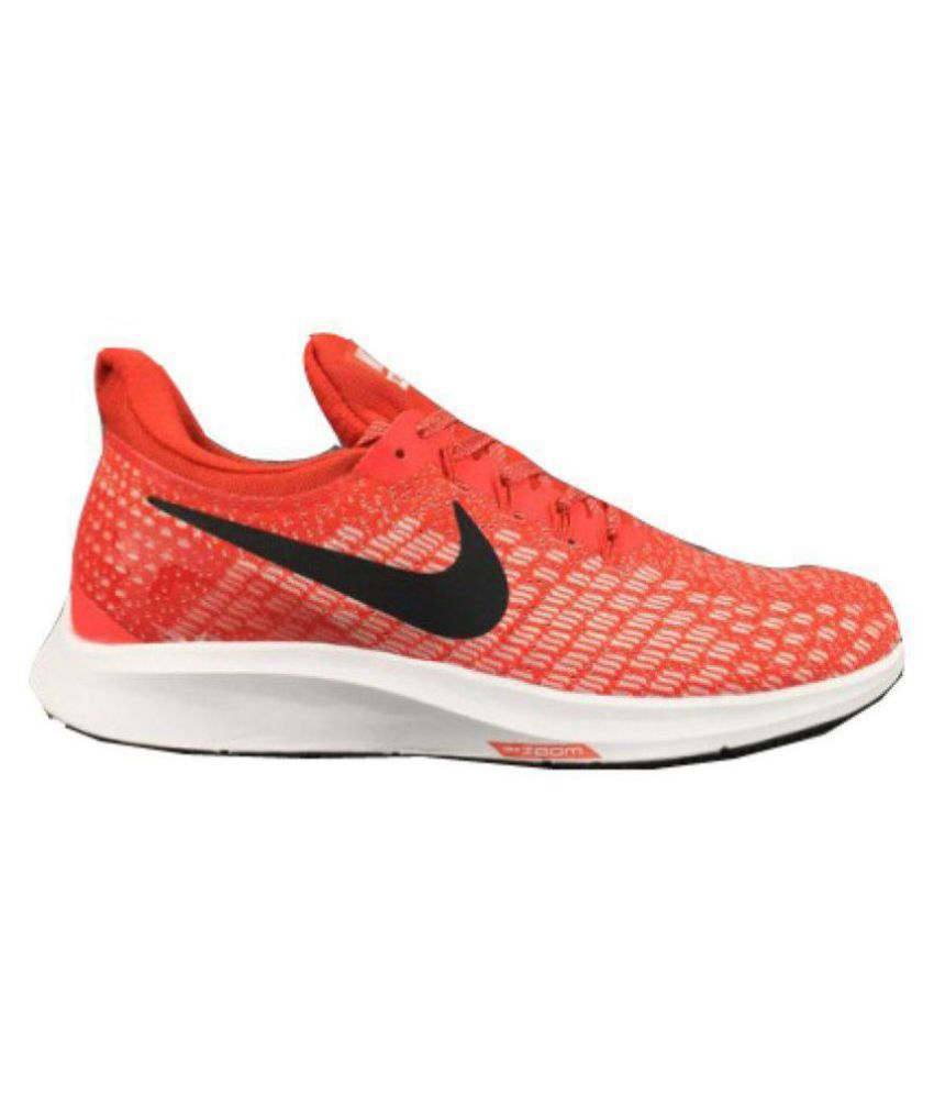 bc8ec78453df1 Nike AIR ZOOM PEGASUS 35 Red Running Shoes - Buy Nike AIR ZOOM PEGASUS 35  Red Running Shoes Online at Best Prices in India on Snapdeal