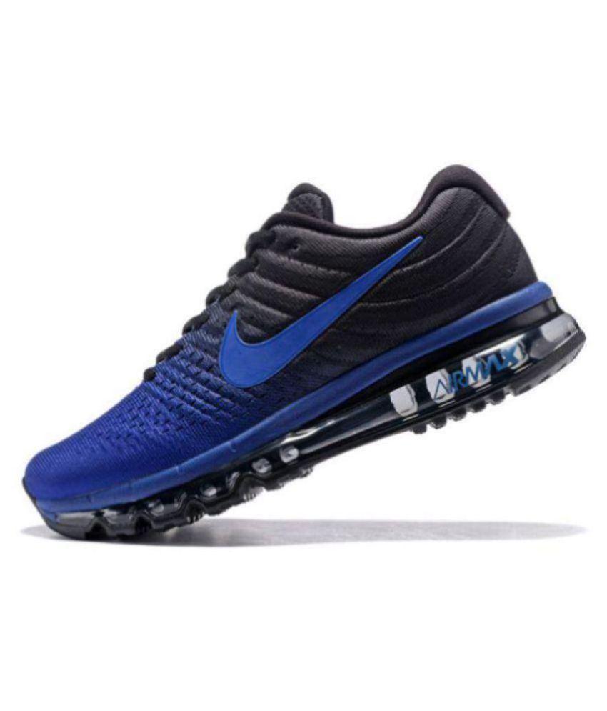 8ea60138ad4b50 ... shop nike airmax 2017 blue running shoes nike airmax 2017 blue running  shoes 915ed efe93