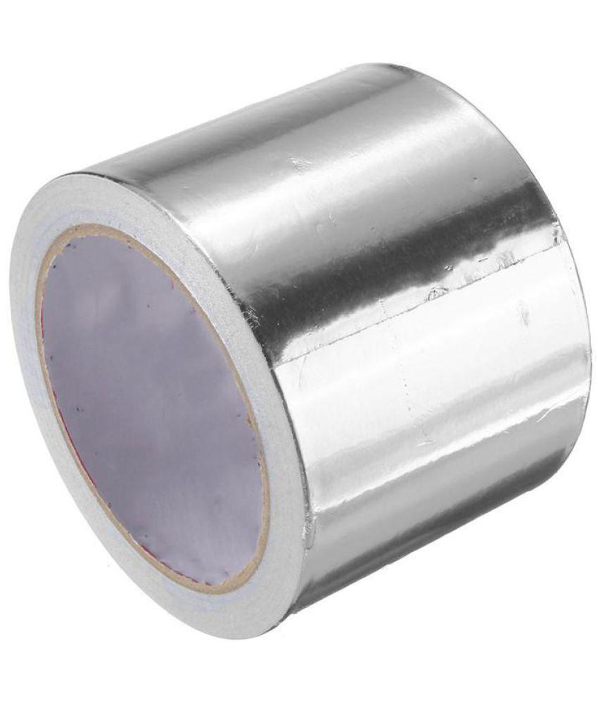 Buy 80mm x 25m Foil Roll Silver Aluminium Foil Tape Heat