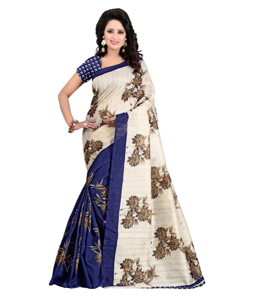Aadya Multicoloured Art Silk Saree