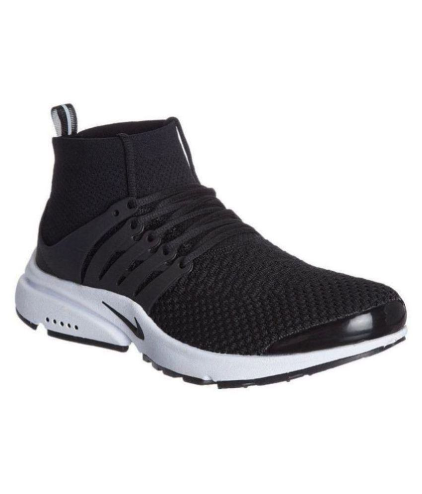 best sneakers 3e95e 30571 Nike Air Presto Ultra Flyknit Black Running Shoes - Buy Nike Air Presto  Ultra Flyknit Black Running Shoes Online at Best Prices in India on Snapdeal