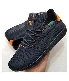 c6b4d4210b75c Adidas PHARRELL WILLIAMS TENNIS HU Black Training Shoes