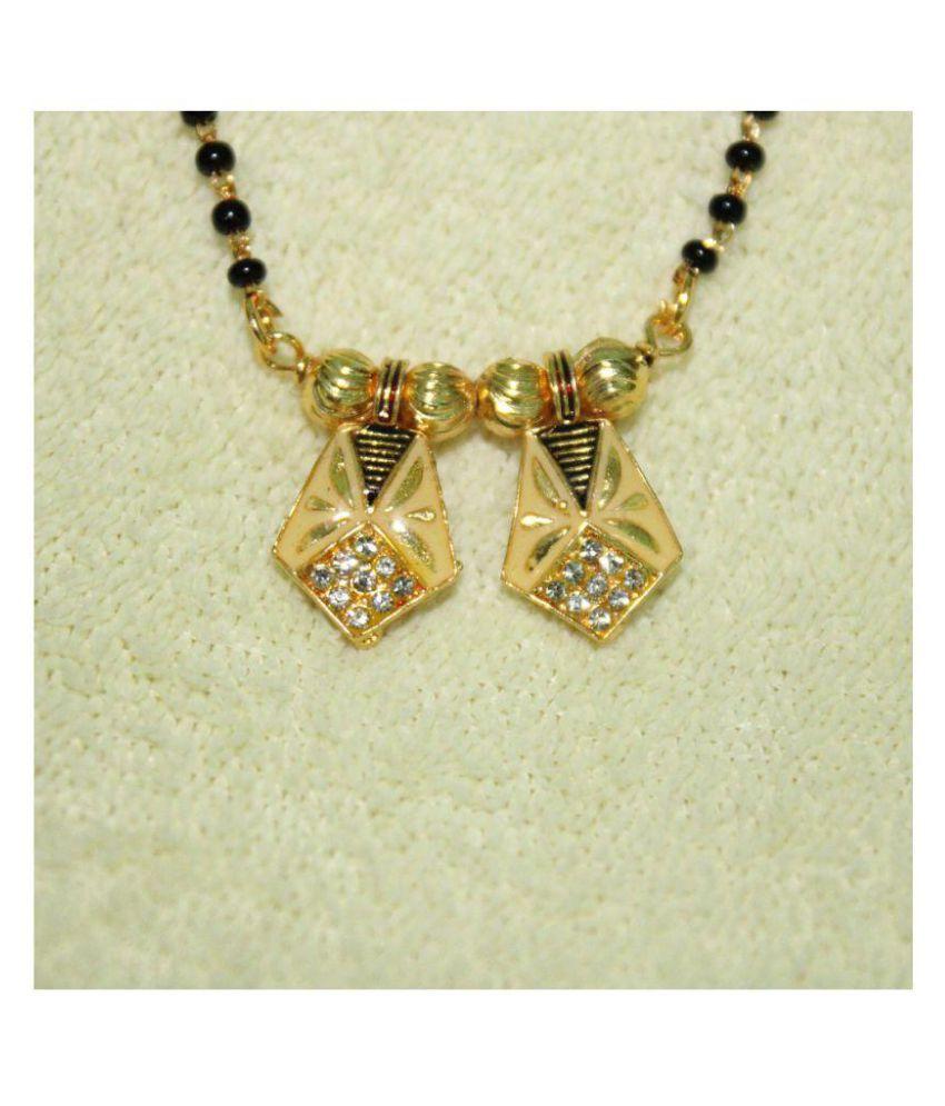 Gold Colour ImitationHub Mangalsutra IH206