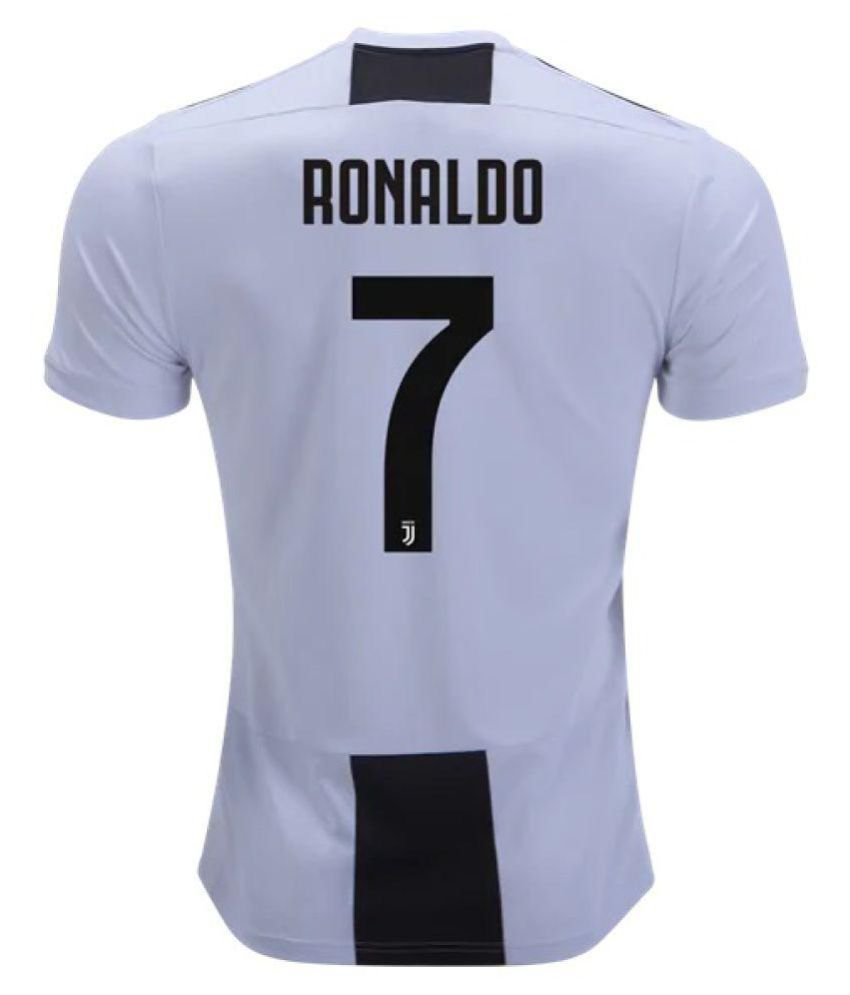503be1a35ac Marex Juventus Home Football jersey with Ronaldo Written at Back ...