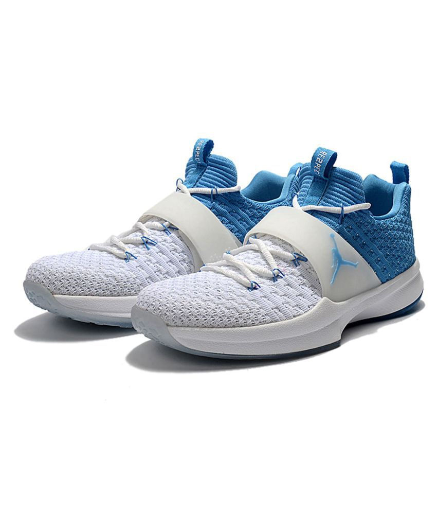 5703f06db957 Nike AIR JORDAN Blue Running Shoes Nike AIR JORDAN Blue Running Shoes ...