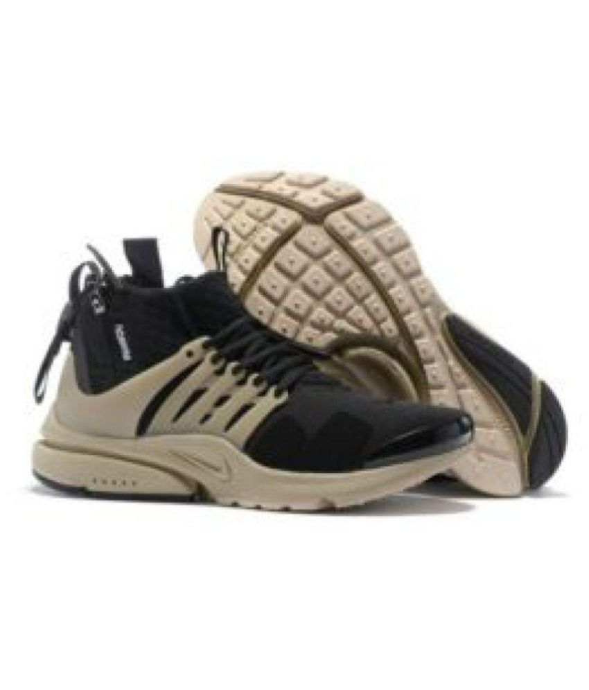 online retailer fd9b6 a4e6a Nike Air presto Black Running Shoes - Buy Nike Air presto Black Running  Shoes Online at Best Prices in India on Snapdeal