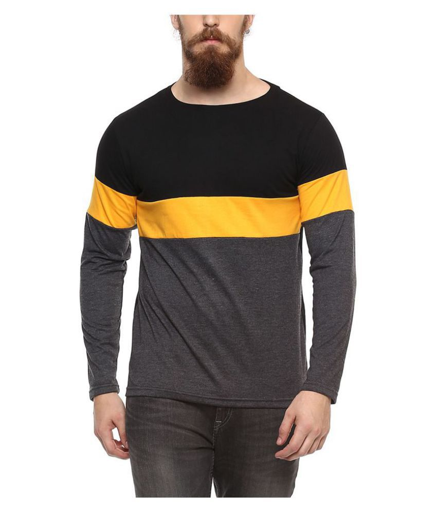 Veirdo Black Full Sleeve T-Shirt