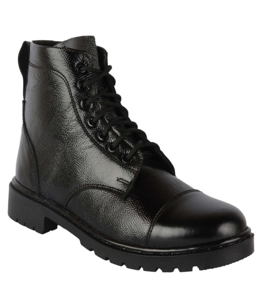 KeeAra Black Formal Boot