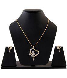 Darshini Designs butterfly pendant set for women