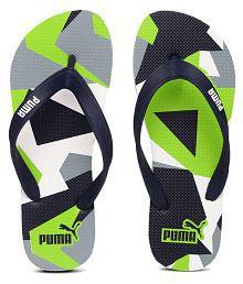 Puma Navy Slippers