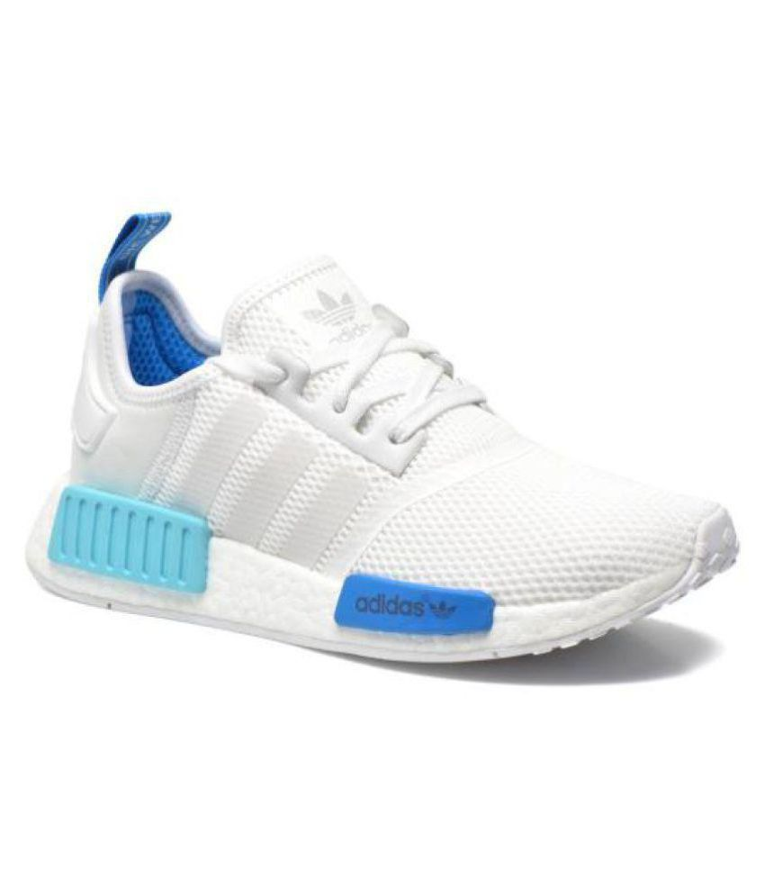 7e4bb262b5f88 Adidas NMD RUNNER White Running Shoes - Buy Adidas NMD RUNNER White Running Shoes  Online at Best Prices in India on Snapdeal