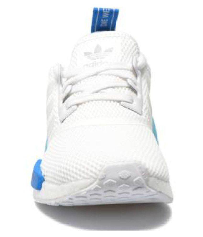 8db5f1cd5 Adidas NMD RUNNER White Running Shoes Adidas NMD RUNNER White Running Shoes  ...