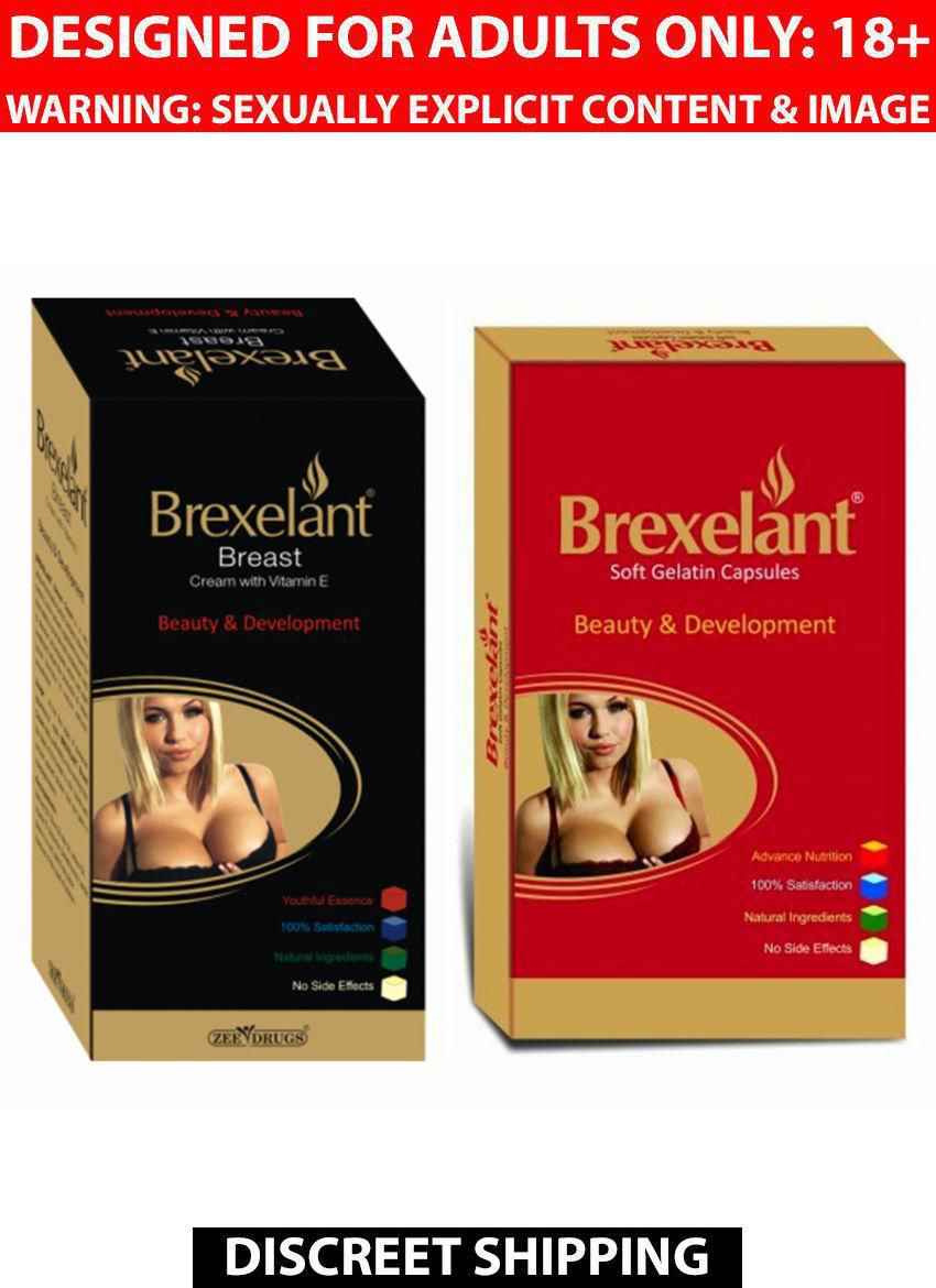 Ayurveda Cure Brexelant Capsules 30 Nos & Brexelant Cream 60 gm Pack of 2