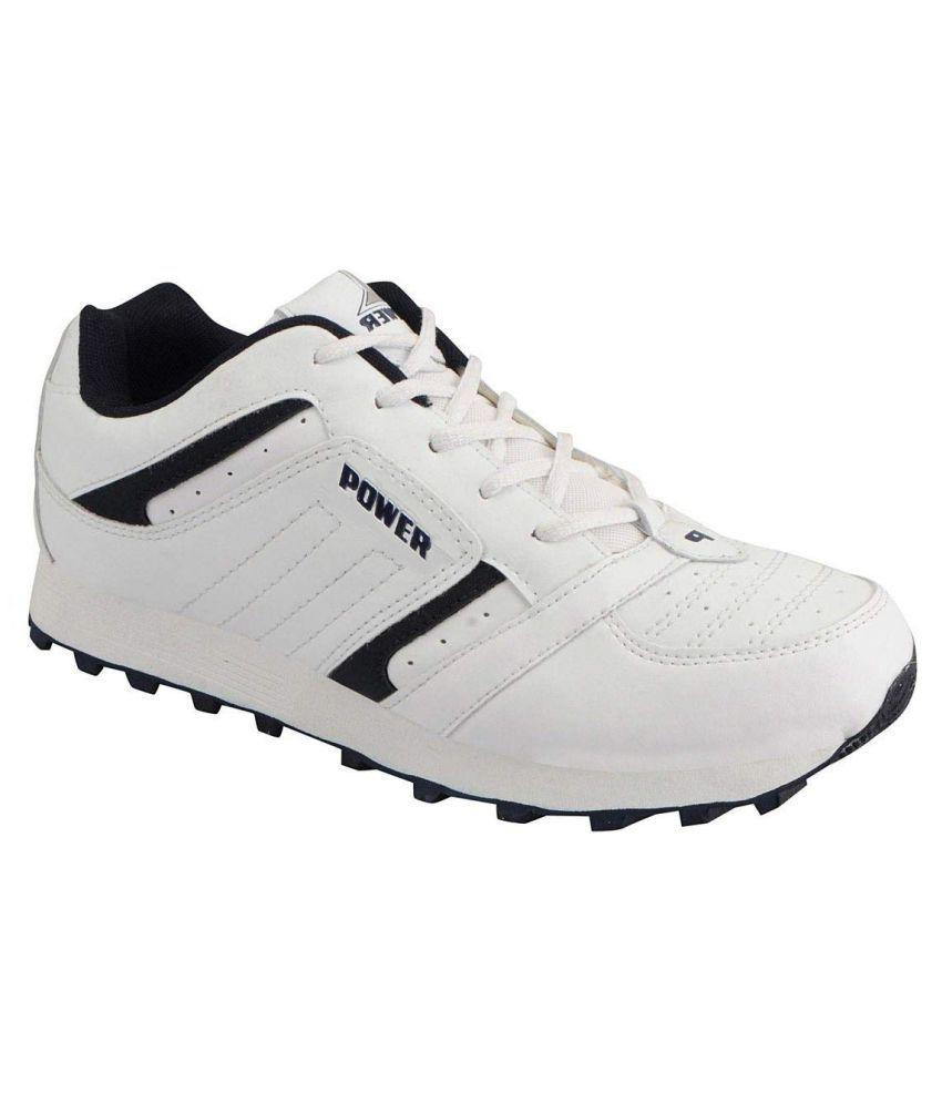 Bata Power Running Shoes White: Buy
