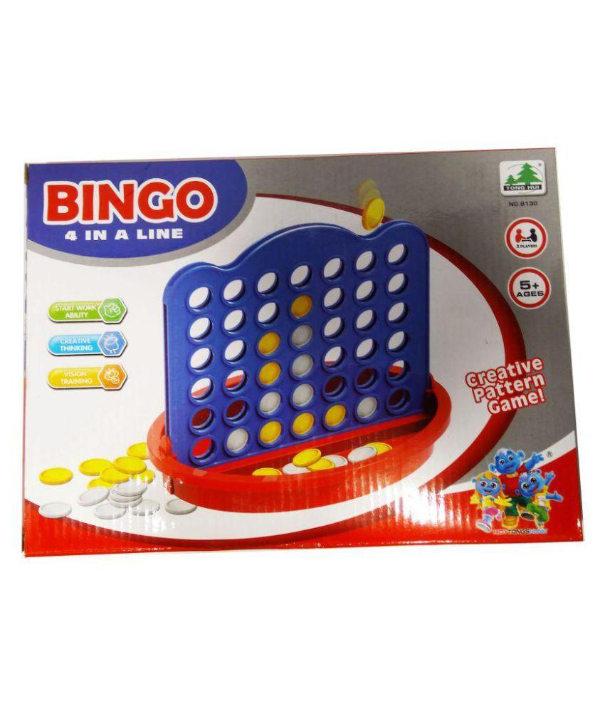 Kiti Kits Creativity Pattern Game For Family (BING0-4)