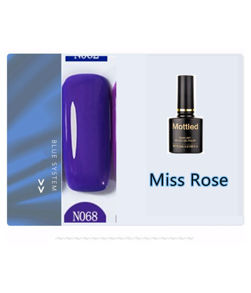 Miss Rose Nail Polish N068 As Picure Glossy 35g gm
