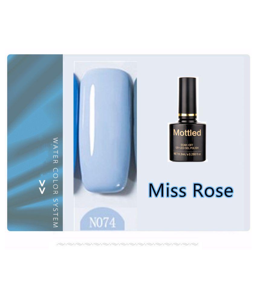 Miss Rose Nail Polish N074 As Picure Glossy 35g gm