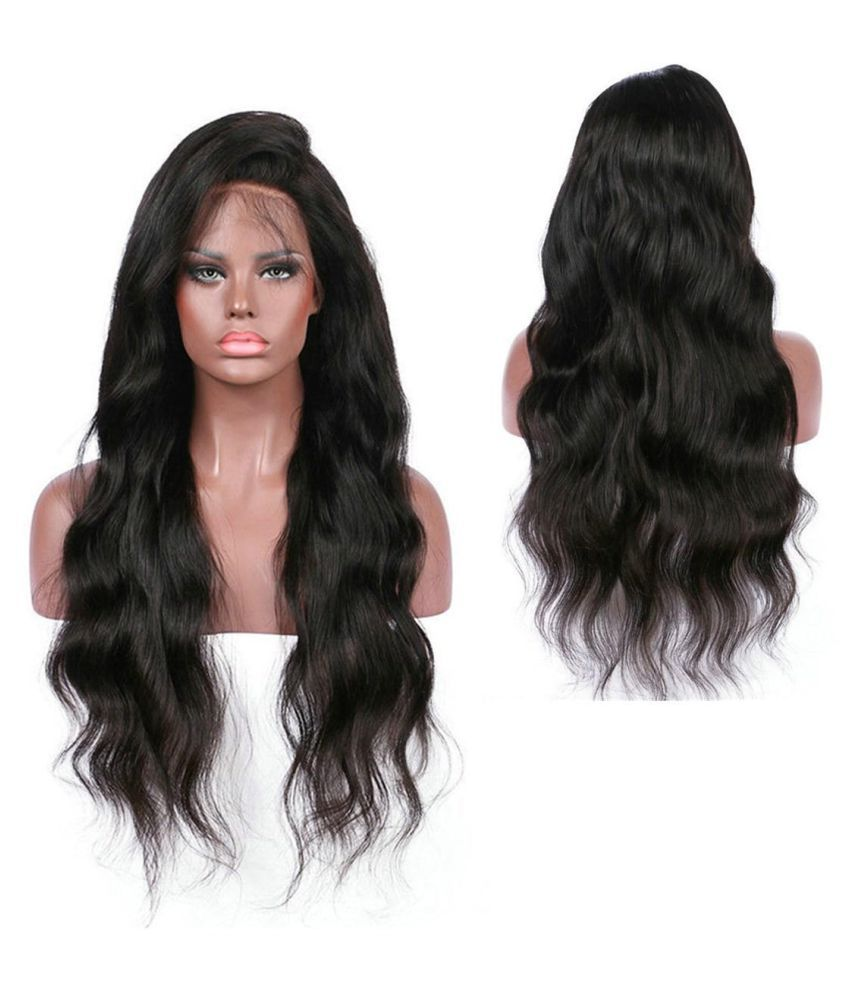... Women 26 inch Curly Wig Black Glueless Full Lace Wigs Remy Human Hair  Lace Front ... 9c8aa5545