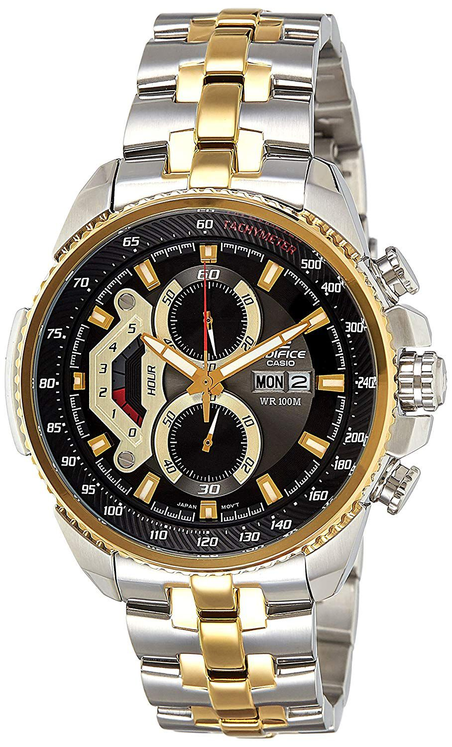 59ec7e11daa Casio Original Edifice Chronograph Watches  Buy Men Fashion Black Silver  and Gold stainless Chronograph Watch Online in India at Snapdeal