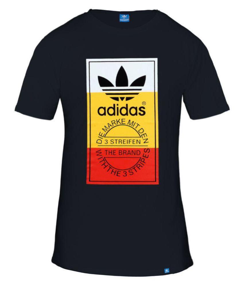 Adidas Red Half Sleeve T-Shirt
