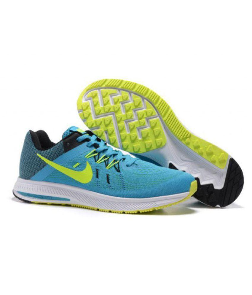1edb08255d3 Nike Zoom Winflo 2 Blue Running Shoes - Buy Nike Zoom Winflo 2 Blue ...