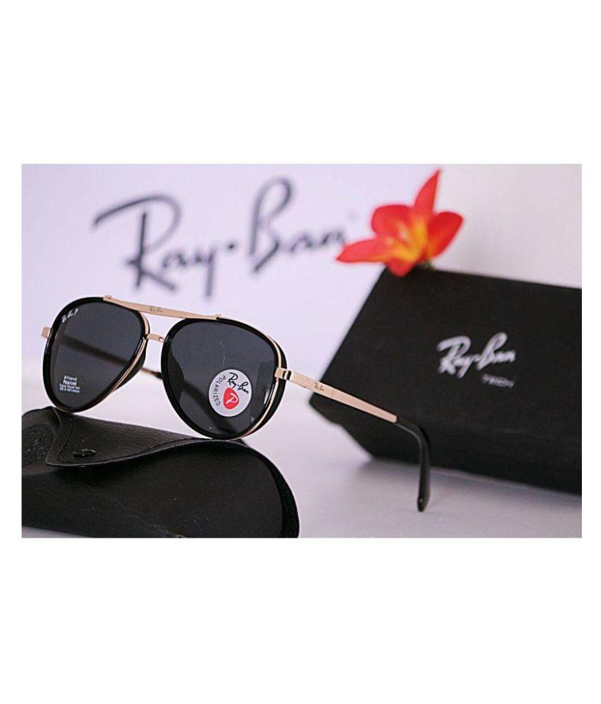 Nolimitshop Ray Ban Black Aviator Sunglasses Rb Ray Ban