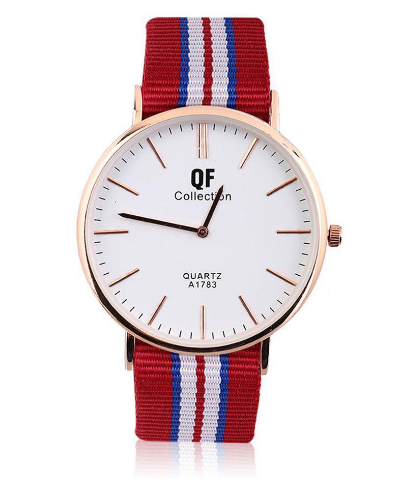 747ba4bad27 Luxury Watches Men Women Ultra Thin Large Dial Quartz Wristwatches Nylon  Strap ...