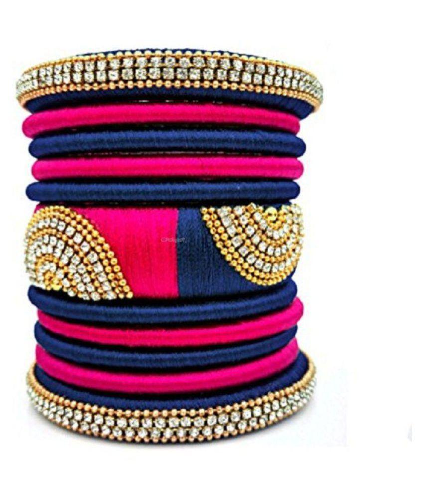 Silk good stylish bangles for women