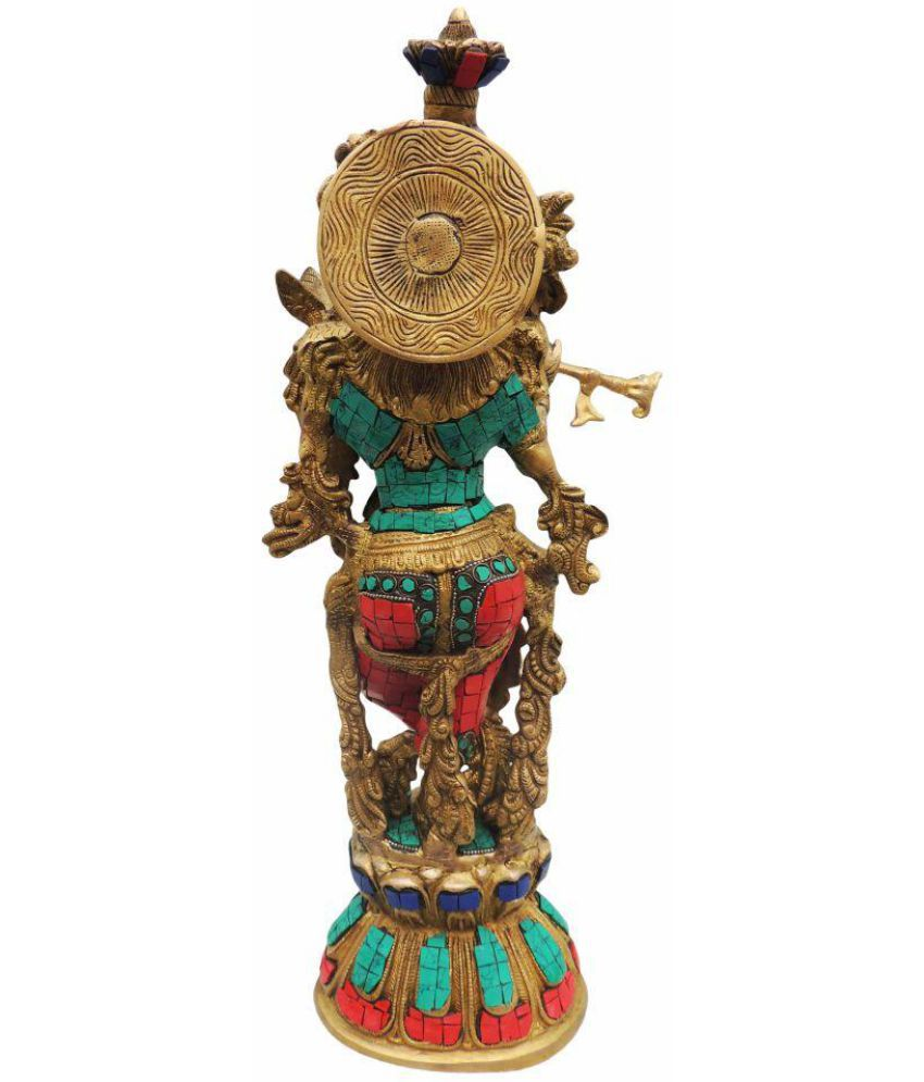 eb0574fc3 Brass Gift Center Krishna Brass Idol  Buy Brass Gift Center Krishna Brass  Idol at Best Price in India on Snapdeal