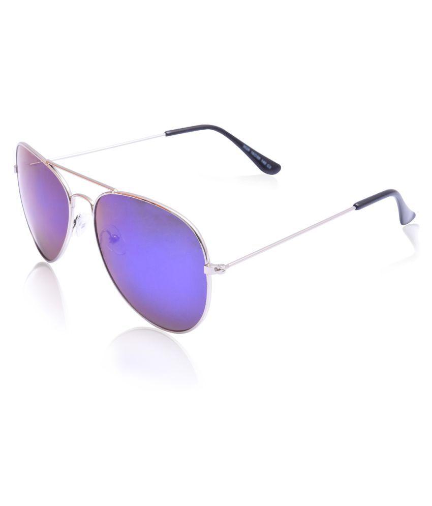 RazMaz Blue Aviator Sunglasses ( RZ2105 )