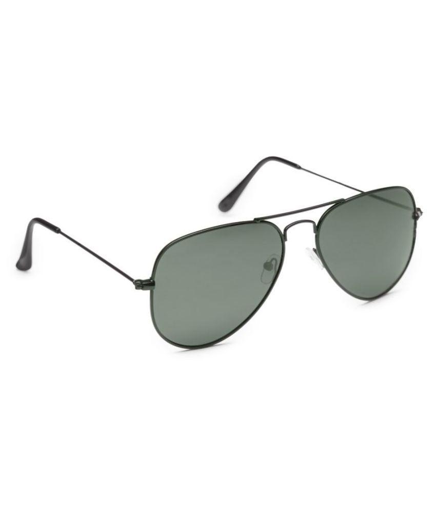 Get Glamr Black Aviator Sunglasses ( SG-UN-MT-051-8 )