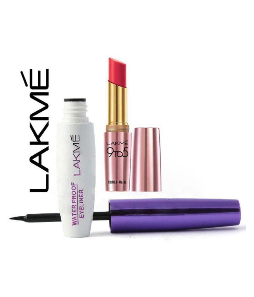 d859845de02 Lakme Imported Perfect Radiance Waterproof Mascara & 9 To 5 Lipstick Mascara  Multi Shades 15 gm: Buy Lakme Imported Perfect Radiance Waterproof Mascara  & 9 ...