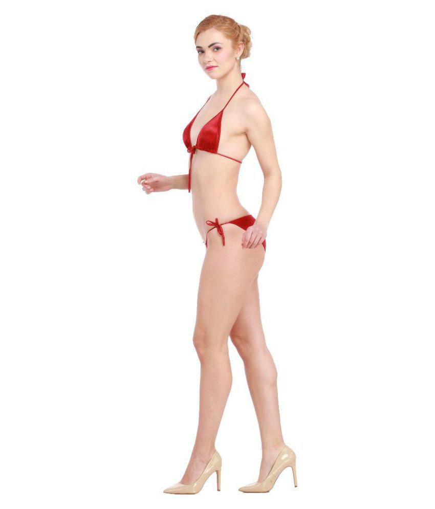 19cd36d95d3 Buy Glus Satin Bra and Panty Set Online at Best Prices in India ...