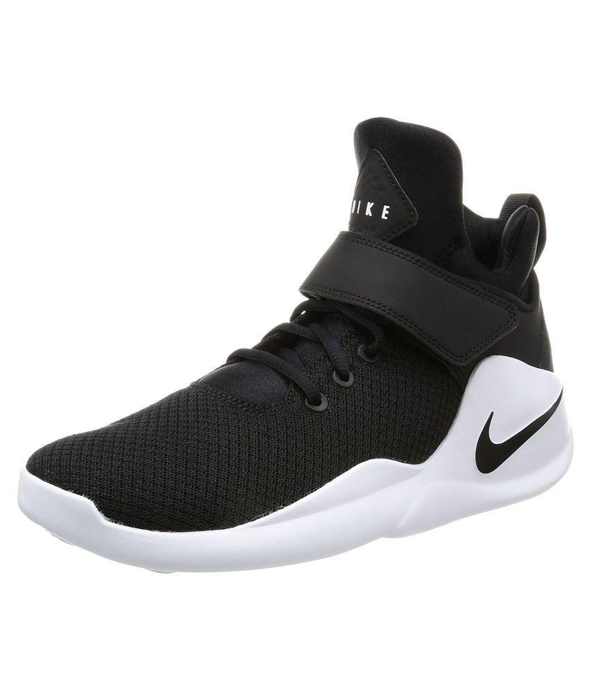f3692a8661 Nike Kwazi Black Basketball Shoes