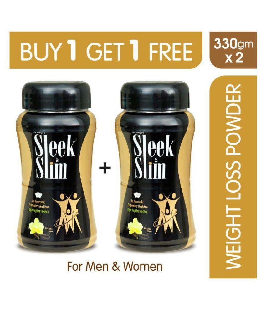 Sleek Slim Weight Loss Powder 330 Gm 1 1 Vanilla Flavor 330 Gm Vanilla