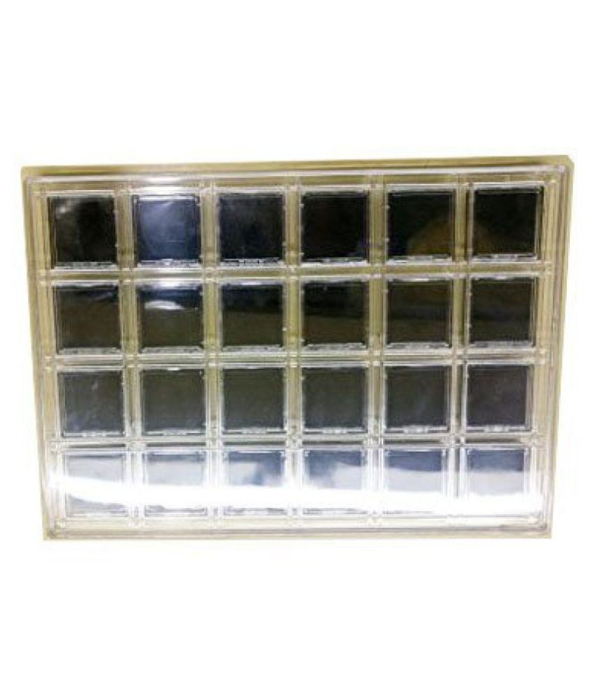 22 X 31Cm Full Acrylic Stone Display Tray and Black Boxes 24pcs (42 X 42 MM) Diamond Gem Gemstone Beads Jewelry Displaying Organizer Holders Showcase Container