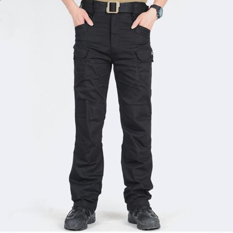 Changing Destiny Black Loose -Fit Flat Trousers
