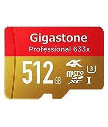 Gigastone 512 GB Class 10 Memory Card