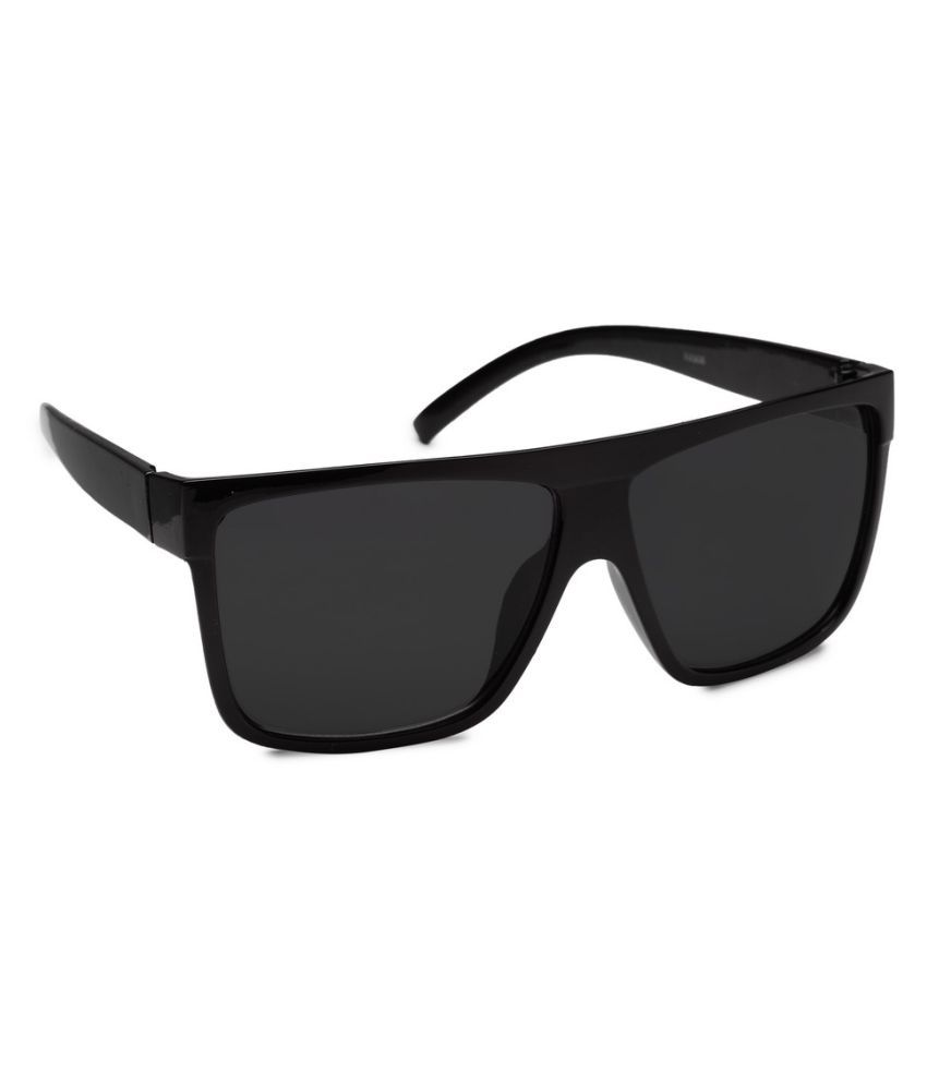 edfae3a964 Get Glamr Black Square Sunglasses ( SG-UN-MT-068-8 ) - Buy Get Glamr Black  Square Sunglasses ( SG-UN-MT-068-8 ) Online at Low Price - Snapdeal