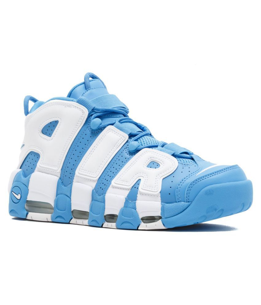 watch 4ea74 c1805 Nike Air More Uptempo University Blue Basketball Shoes - Buy Nike Air More  Uptempo University Blue Basketball Shoes Online at Best Prices in India on  ...