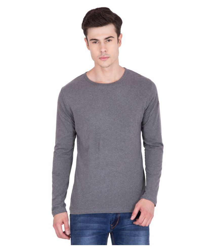 PAUSE Black Full Sleeve T-Shirt