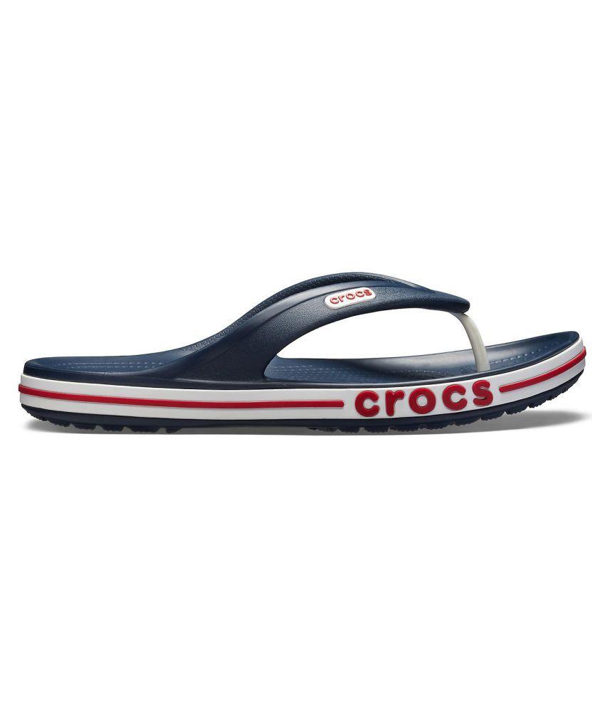 a903d8ef6 Crocs Bayaband Navy Thong Flip Flop Price in India- Buy Crocs ...