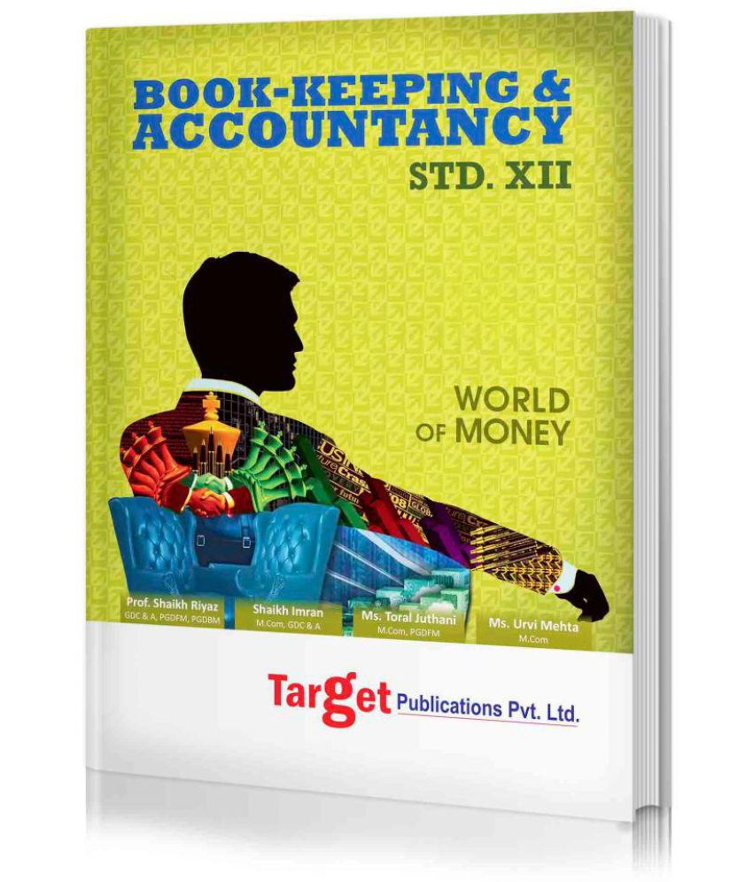 Std. 12th Book Keeping and Accountancy Notes, Commerce (MH Board)
