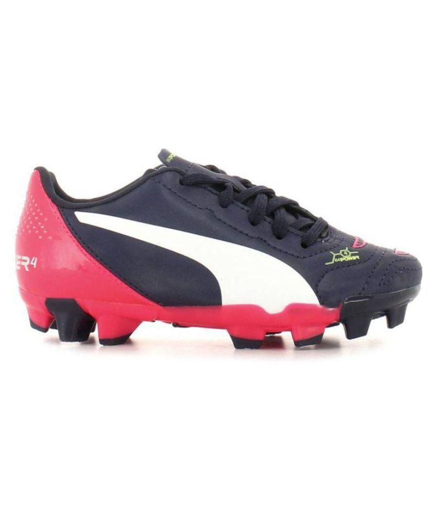 Puma evoPOWER 4.2 FG Jr Football Shoes Price in India- Buy Puma ... 66351a87f