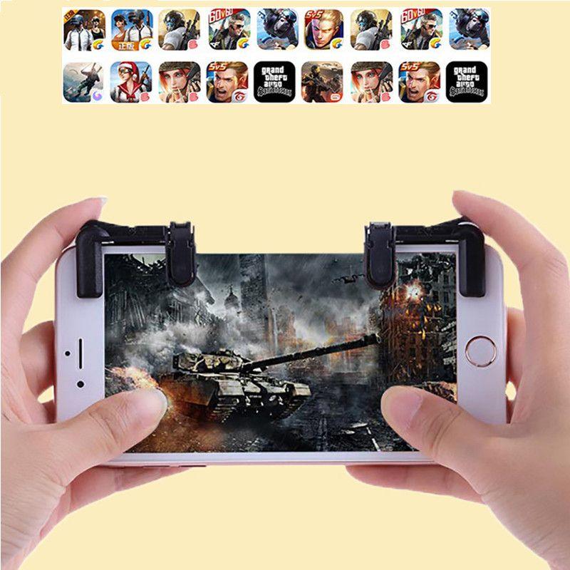 Fortnite L1 R1 PUBG Mobile Phone Trigger Controller L1R1 Shoot Fire Button  Aim Key Smartphone Game Joystick Gamepad For iPhone