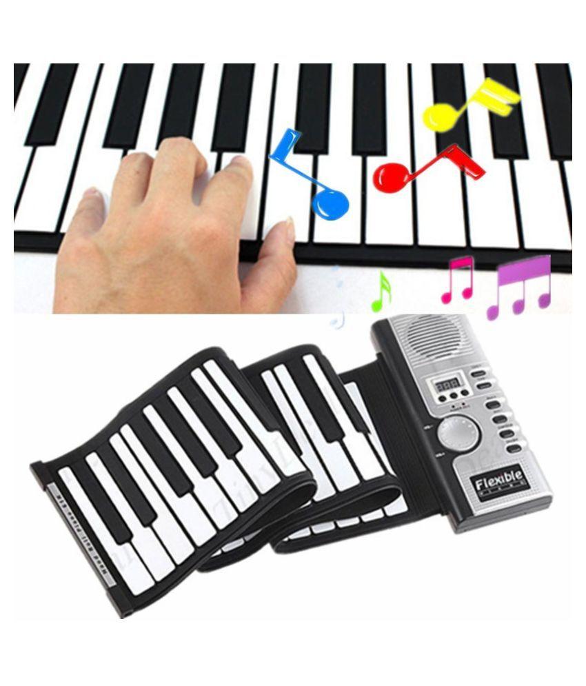 Roll-Up 61 MIDI Soft Key Synthesizer Electronic Piano