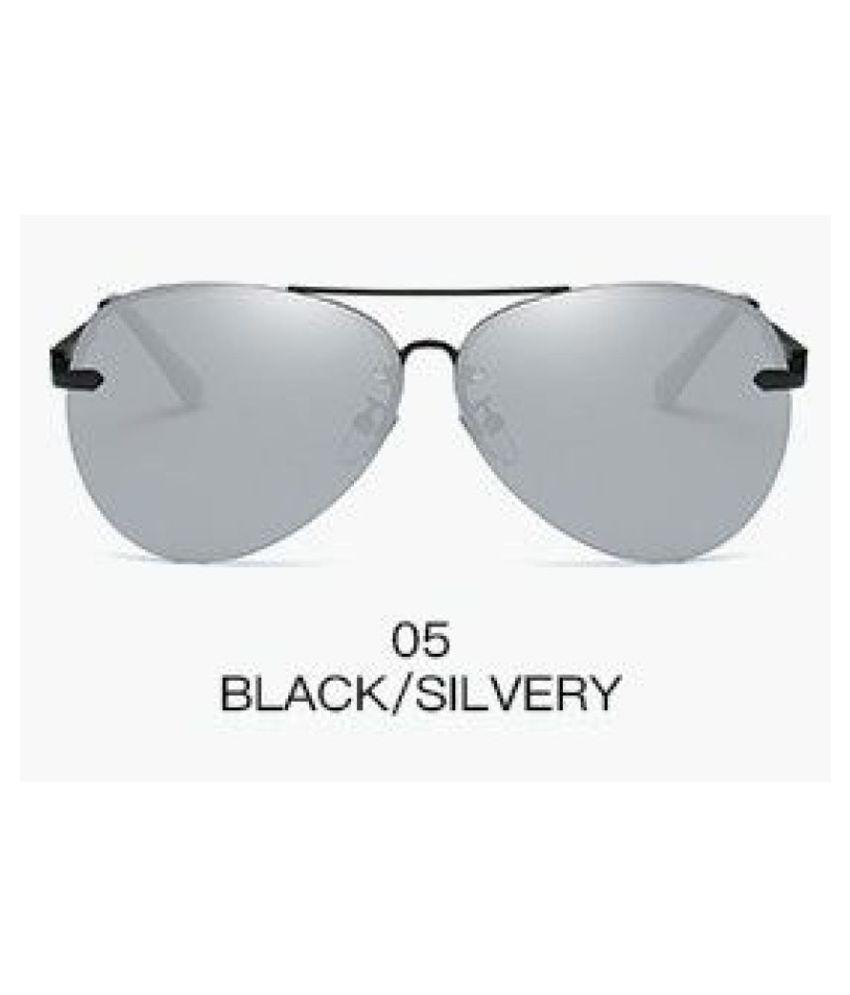 Swagger Fashion Polaroid Fashion Sun Glasses Mirror Lens Retro Eyewear Shades for Men Sold by ZXG