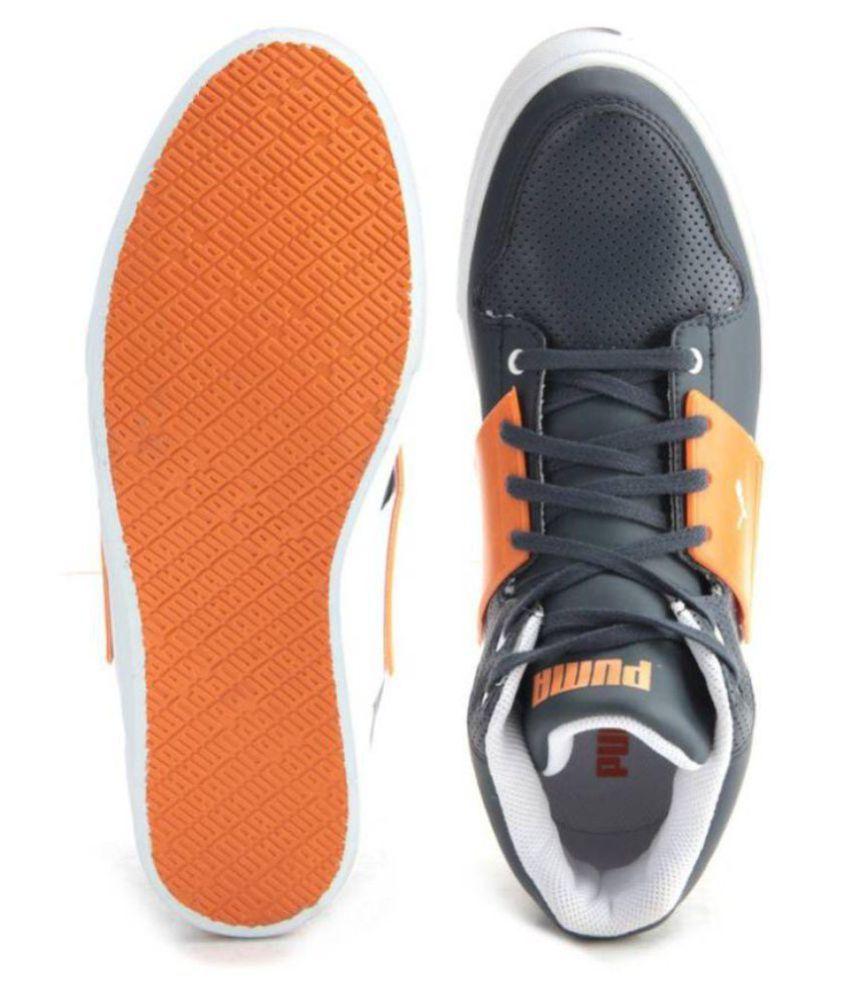 36ea15144dbc Puma El Ace 2 Mid PN II DP Sneakers Black Casual Shoes - Buy Puma El ...