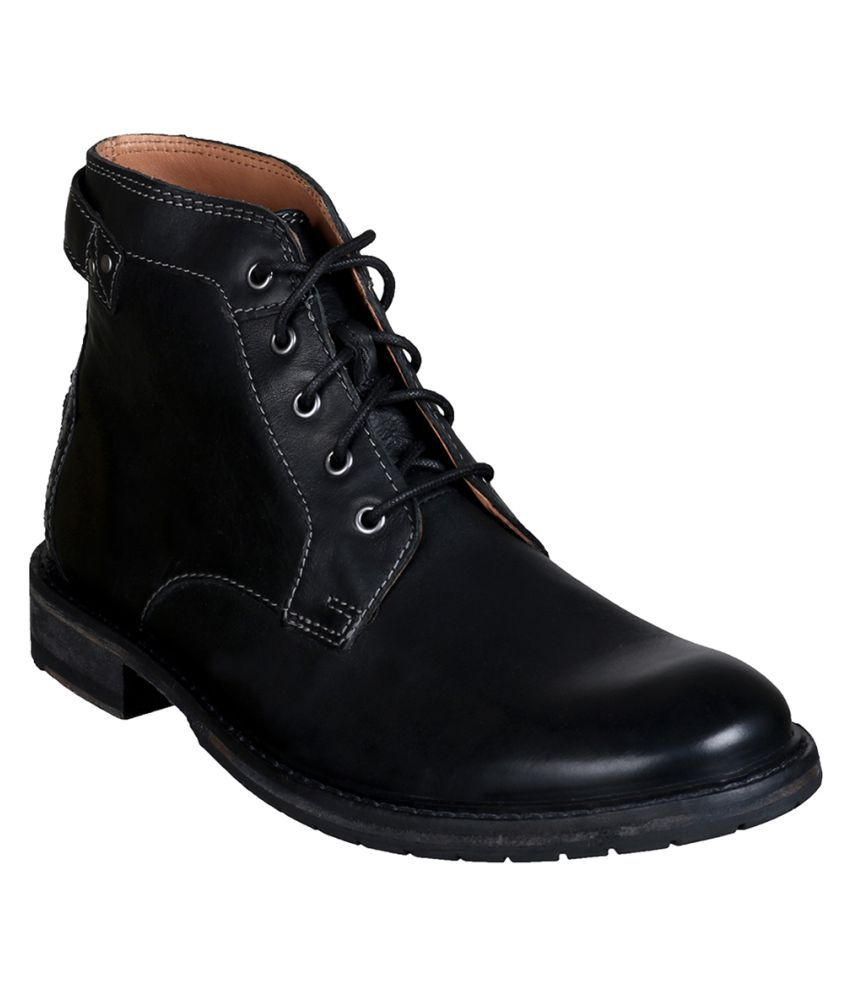 Clarks Black Casual Boot
