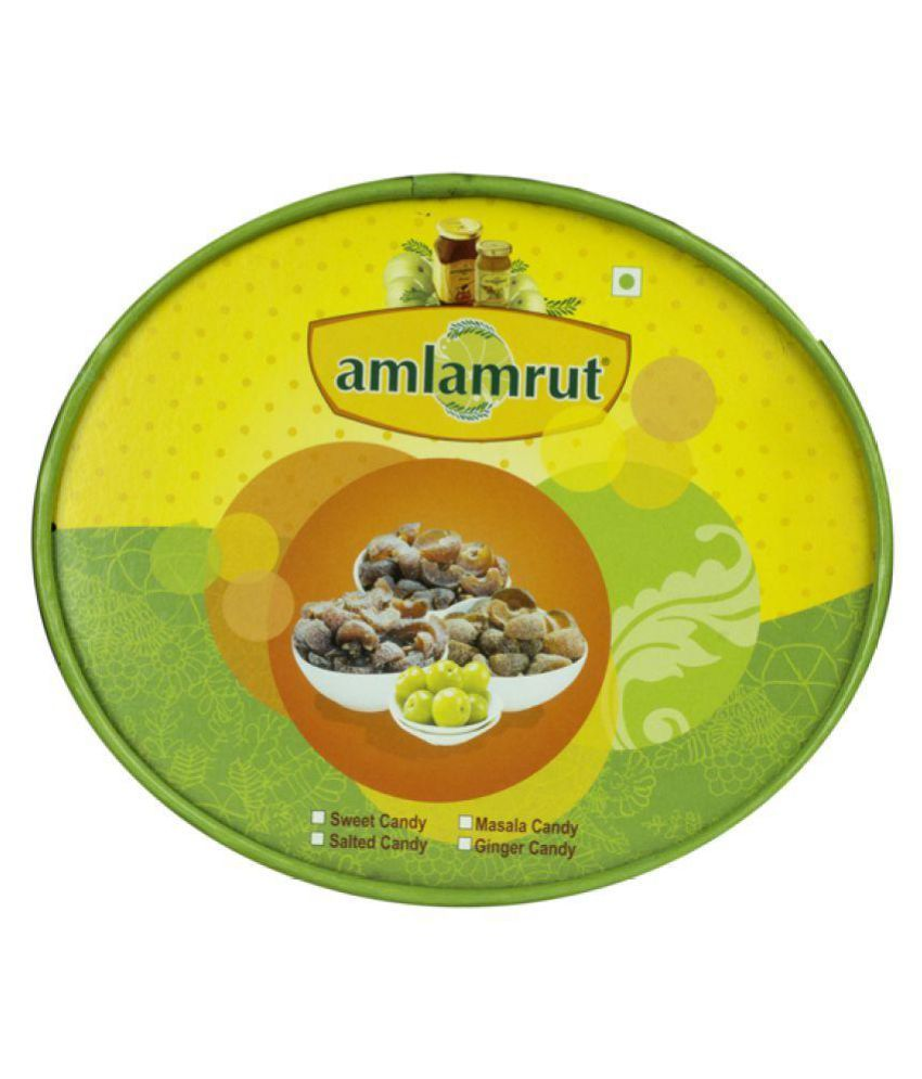 Amlamrut Candy Multi Flavour Pack Filled Candies 400 gm Pack of 2